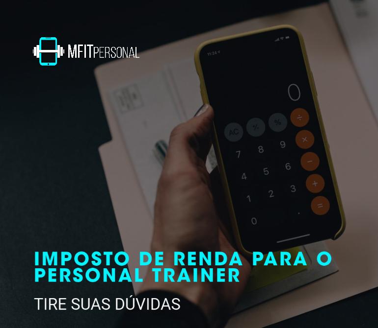 IMPOSTO DE RENDA PARA O PERSONAL TRAINER